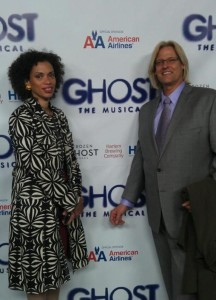Neal Harrelson at Ghost the Musical